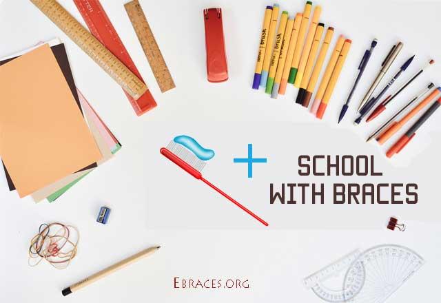 braces at school