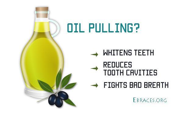 oil pulling for teeth health